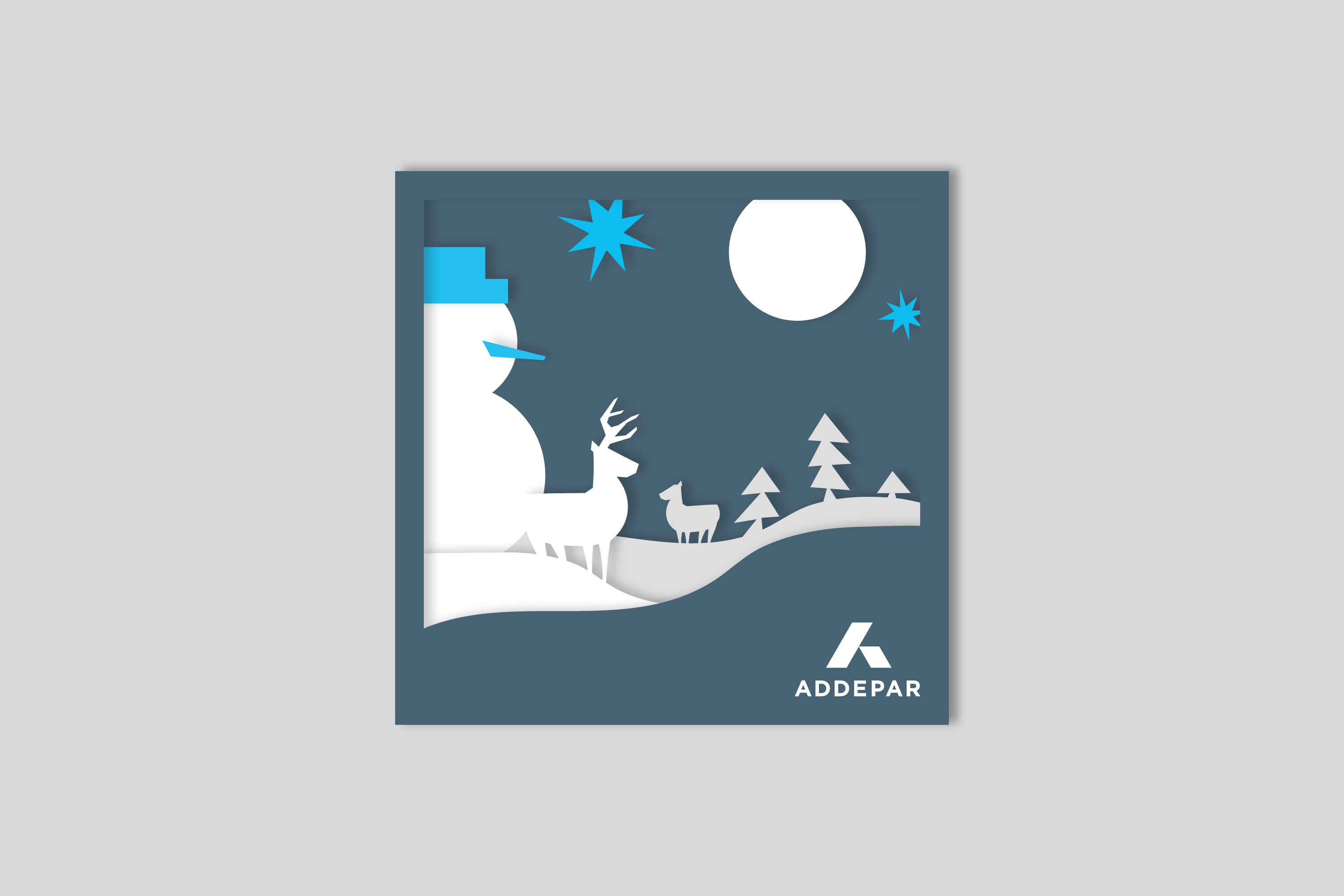 Addepar_Snow_Man_3D_Card